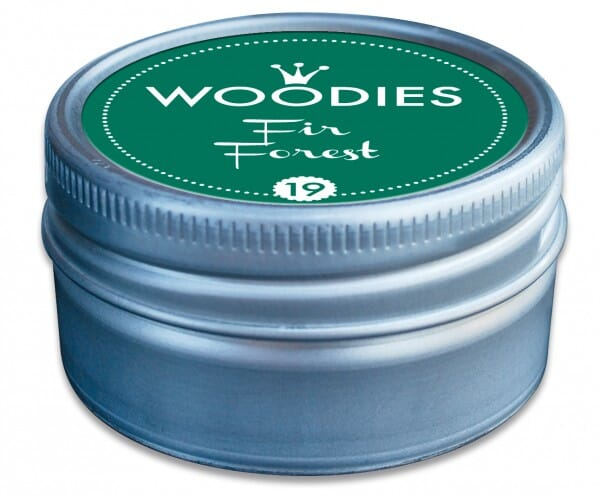 Woodies stamp pad Fir Forest