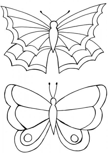 Lindsay Mason Designs - Zendoodles Butterflies Clear Stamp