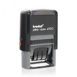 Trodat Printy Dater 4750L - Paid on by BACS