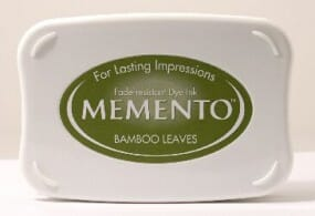 Tsukineko - Bamboo Leaves Memento Ink Pad