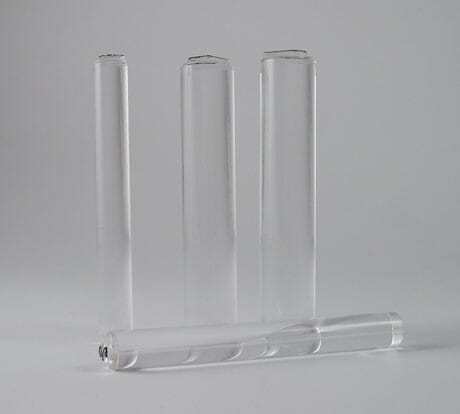 Card-io - Small Majestix Clear Acrylic Rod Peg Mounts 12mm dia. 1 per pack