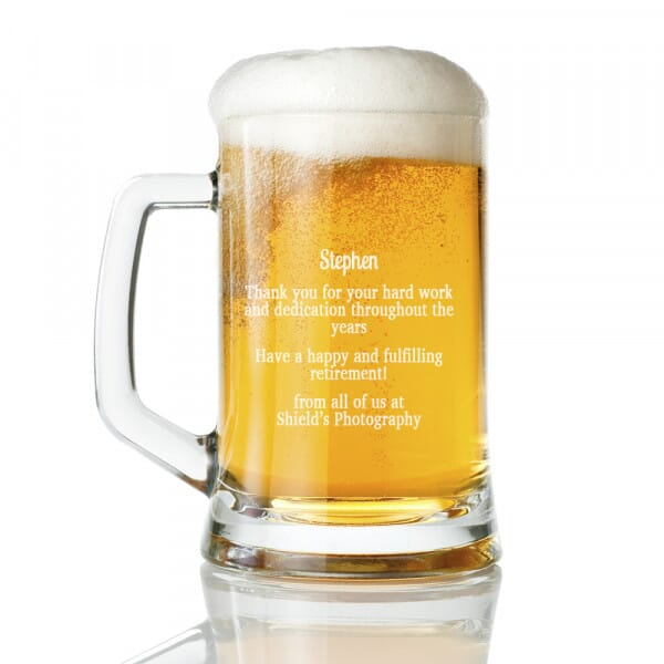 Retirement Tankard