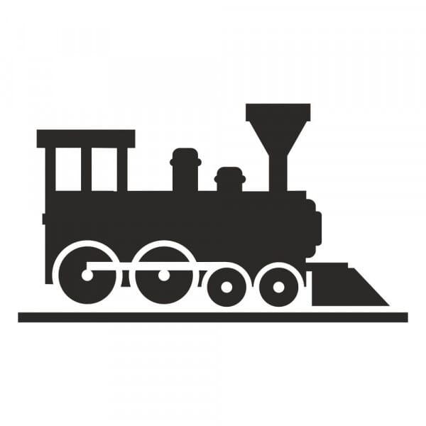 Bullet Journal Stamp - Train