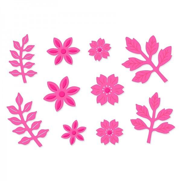 Sweet Dixie Floral Blooms Die by Sue Dix
