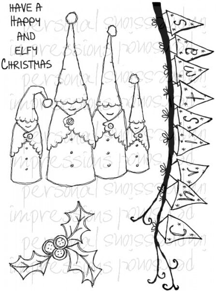 Lindsay Mason Designs - Wood Elves A6 Clear Stamp