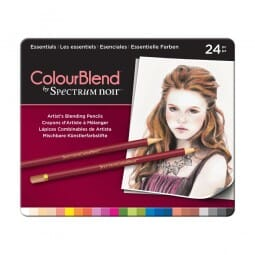 Spectrum Noir 24 Piece ColourBlend Pencil Set - Essentials