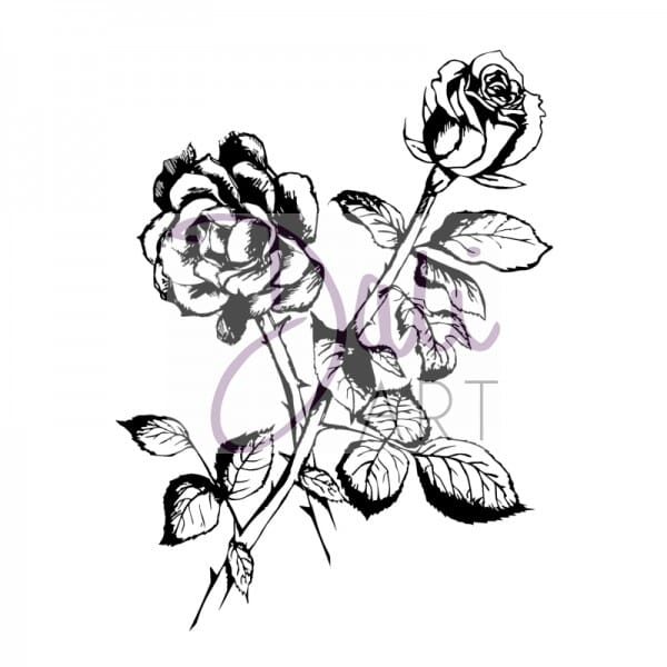DaliArt - DaliART Clear Stamp Rose A6
