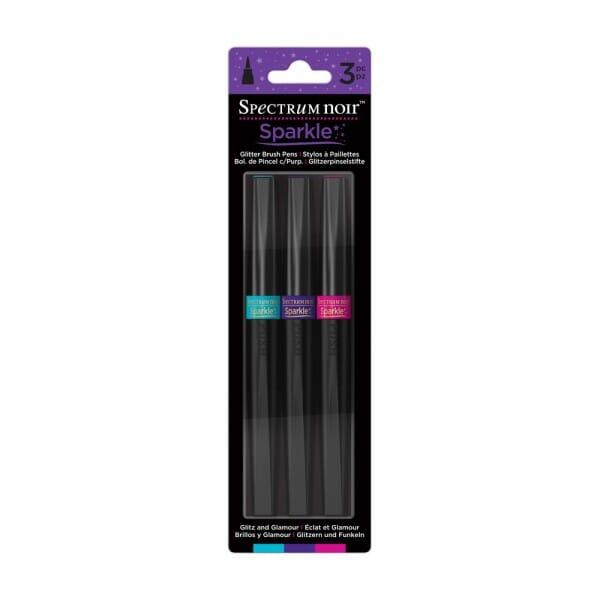 Spectrum Noir 3pk Sparkle Pens Set - Glitz and Glamour