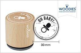Woodies Baby Stamps