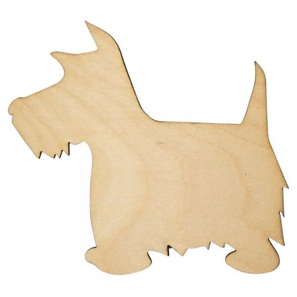 Craft Shapes - Scottie Dog