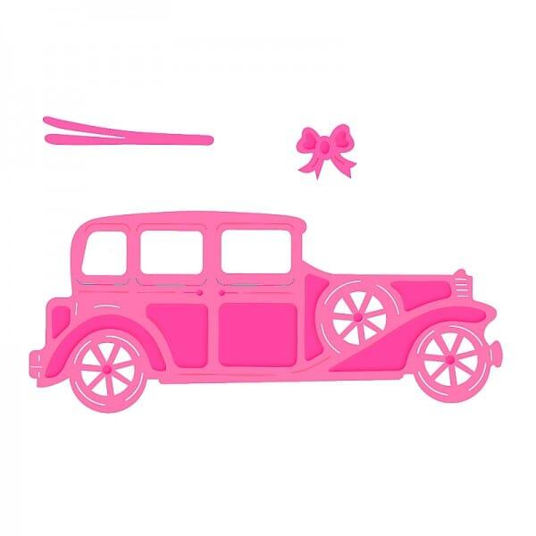 Sweet Dixie Vintage Car Die by Sue Dix