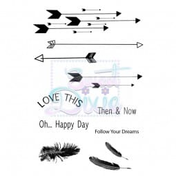 Sweet Dixie - Sweet Dixie Clear Stamp Follow your dreams A6