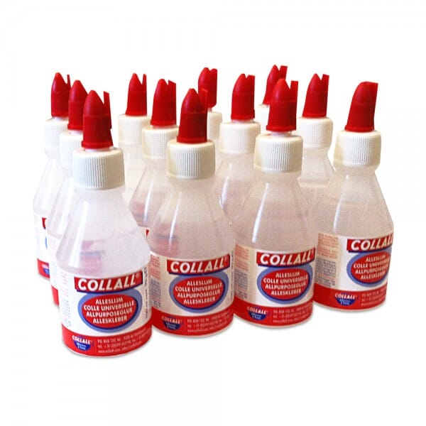 Collall All-Purpose transparent glue - 12 x 100ml bottles
