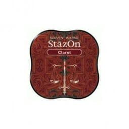 Tsukineko - Stazon Midi Pad Claret