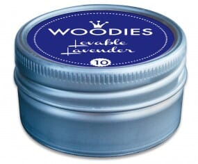 Woodies stamp pad Lovable Lavender