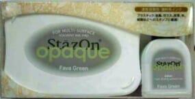 Tsukineko - Fava Green Stazon Pad