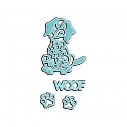 Sue Dix Designs - Woof Sweet Dixie Die