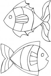 Lindsay Mason Designs - Zendoodles Fish Clear Stamp