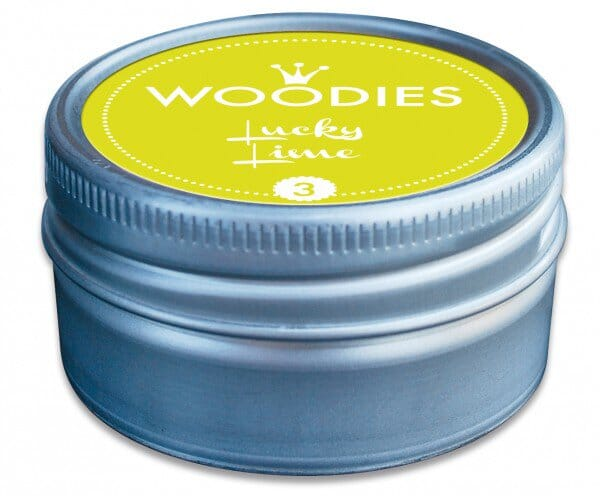 Woodies stamp pad Lucky Lime