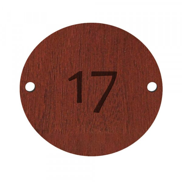 Circular Table Numbers