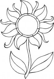 Lindsay Mason Designs - Zendoodles Flower Clear Stamp