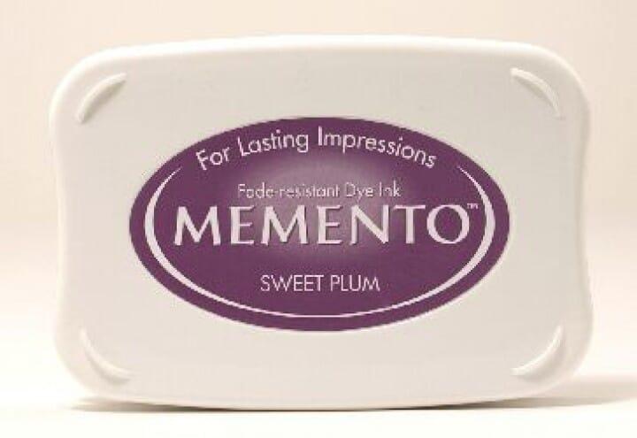 Tsukineko - Sweet Plum Memento Ink Pad