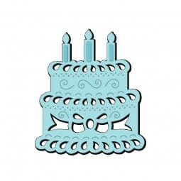 Sue Dix Designs - Birthday Cake Mini Dies