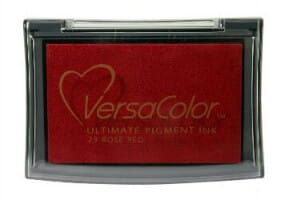 Tsukineko - Rose Red Versacolor Pad