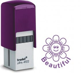 Trodat Printy 4922 - Beautiful Flower - violet