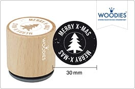 Woodies Christmas Stamps