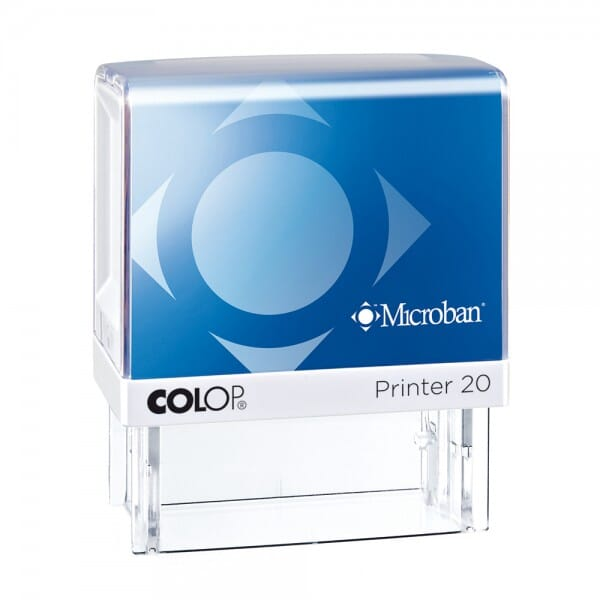 Colop Printer 20 Microban 38 x 14 mm - 3 lines