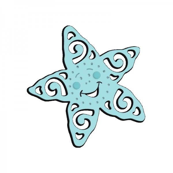 Sue Dix Designs - Smiling Starfish Mini Dies