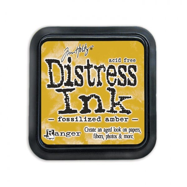 Ranger Ink - April Distress Ink Pad - Fossilised Amber