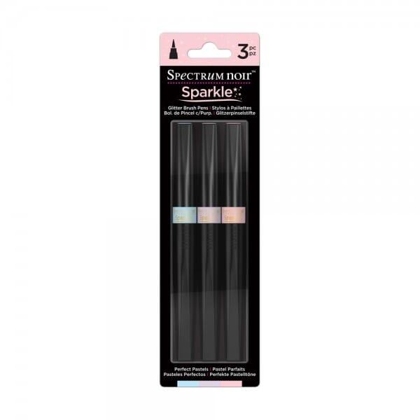 Spectrum Noir 3pk Sparkle Pens Set - Perfect Pastels