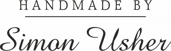 Personalised Handmade By Stamp – Linear Design