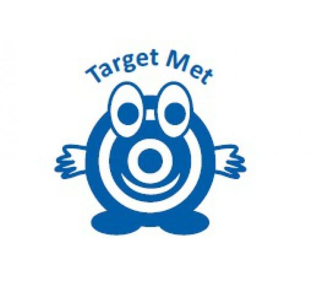 Teachers' Motivation Stamp - TARGET MET