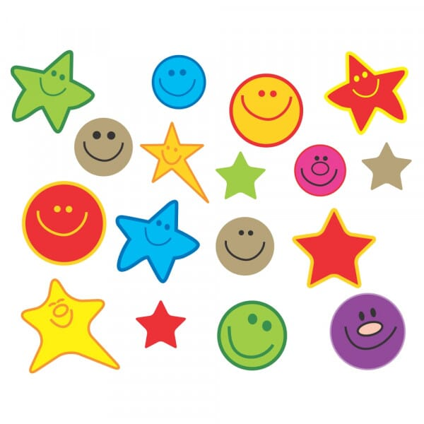Bumper Pack Square Shiny Mini Happy Faces