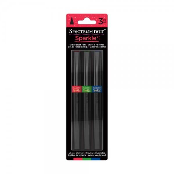 Spectrum Noir 3pk Sparkle Pens Set - Winter Warmers