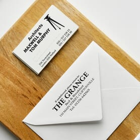 Business Card & Address Stamps