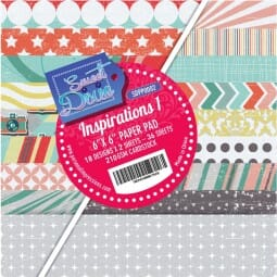 "Sweet Dixie Inspirations One 6"" x 6"" Cardstock Pad"