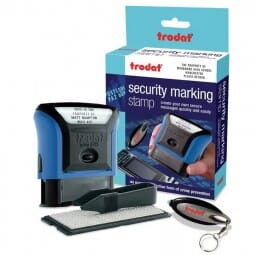 Trodat Security Marking Stamp - Retail box