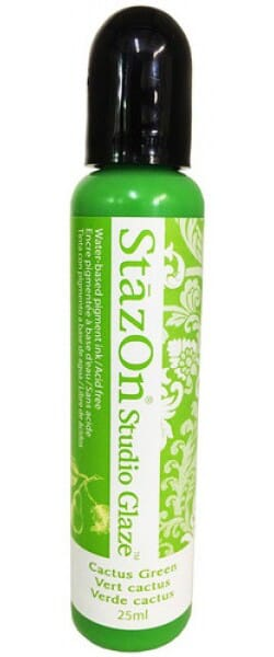 Tsukineko - Stazon Studio Glaze Cactus Green