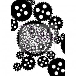 DaliArt - DaliART Clear Stamp Cogs A6