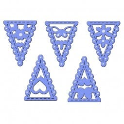 Sue Dix Designs - Bunting Selection Everyday Metal Dies