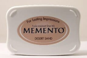 Tsukineko - Desert Sand Memento Ink Pad