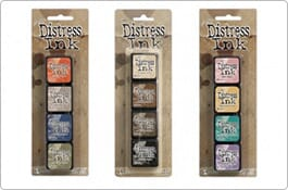 Distress Mini Ink Kits