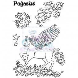 Sweet Dixie - Sweet Dixie Clear Stamp Pegasus A6