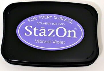 Tsukineko - Vibrant Violet StazOn Pad