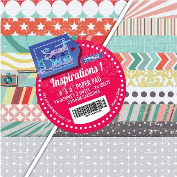 Sweet Dixie Inspirations One Cardstock Pad