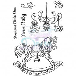 Sweet Dixie - Sweet Dixie Clear Stamp Precious Little One A6